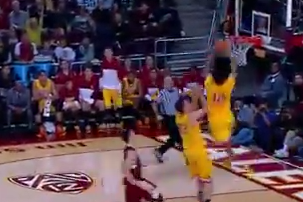 USC Men's Basketball - Pe'Shon Howard to Julian Jacobs Alley-Oop
