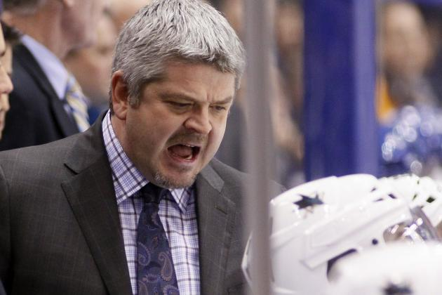 Sharks Coach Vents About Power Play, Officiating Afterloss