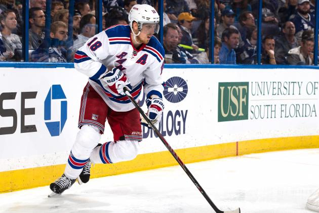 How New York Rangers Should Adjust Without Marc Staal