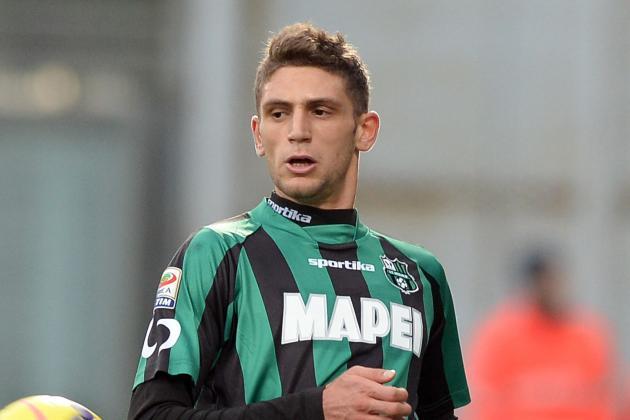 Berardi Will Miss Juventus Trip