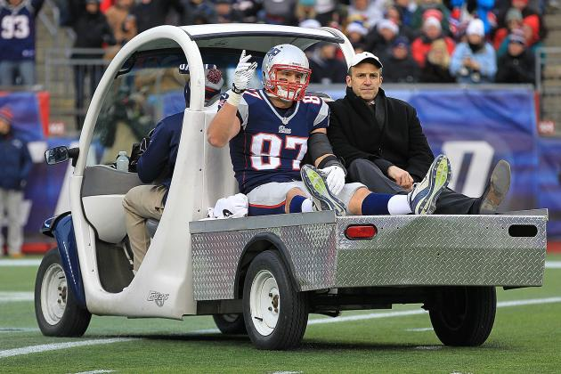 Breaking Down Rob Gronkowski's Knee Injury and Classic ACL, MCL Injury Mechanism