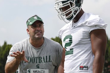 Michigan State DC Pat Narduzzi to Interview for UConn Coaching Job