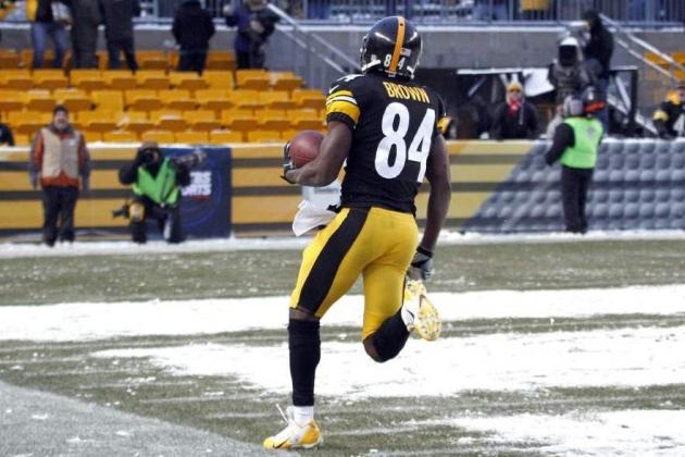Steelers WR Brown Says 'I Thought I Had It Clean' After Wild, Near-Miss Finish