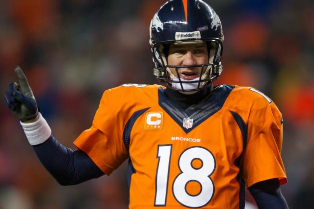 Peyton Manning Closing in on His Fifth MVP