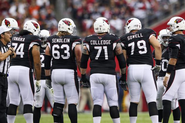 Different Story for Cardinals Offensive Line