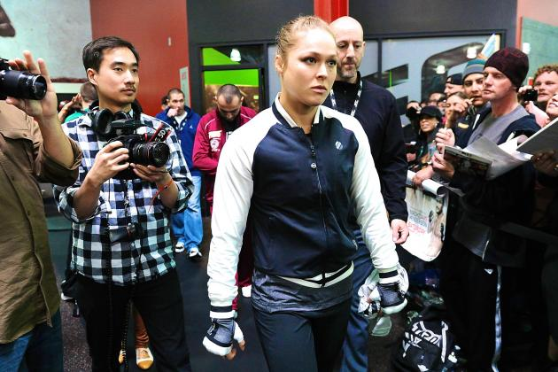 Ronda Rousey on TUF 18: I Worried About Coaching, Miesha Worried About Her Hair