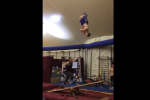Gymnasts Play an INSANE Game of See-Saw