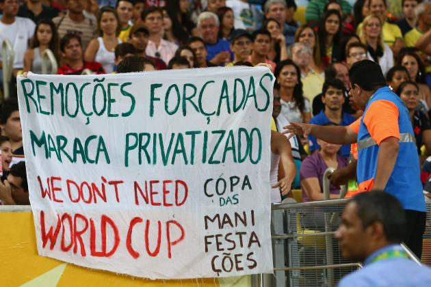 Why 2014 World Cup in Brazil Should Hold No Safety Fears Despite Crowd Violence