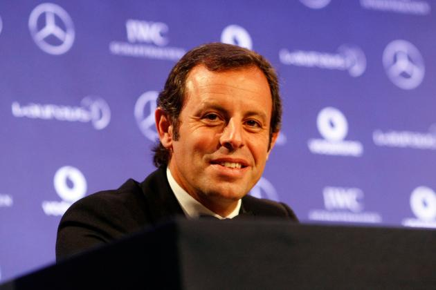 FC Barcelona's Sandro Rosell Accused of Embezzling €40M from Neymar Signing