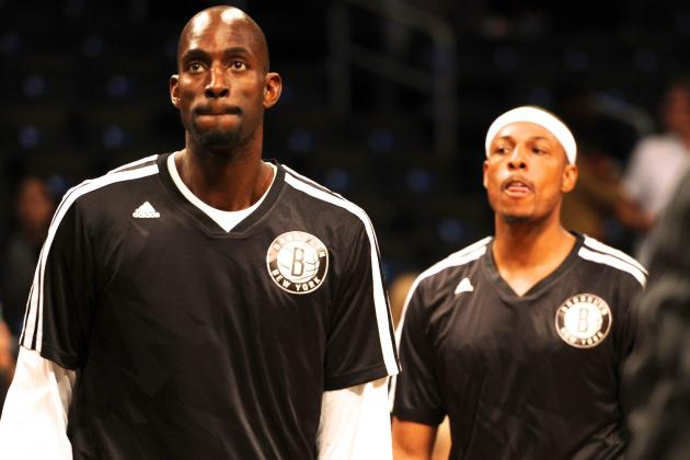 Paul Pierce and Kevin Garnett Face Celtics as Shells of Their Former Selves