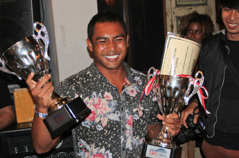 Asian Surfing Champs Awarded Their Trophies in Bali
