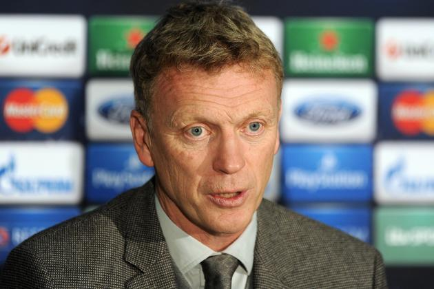 David Moyes Strongly Hints Manchester United Squad Isn't Good Enough