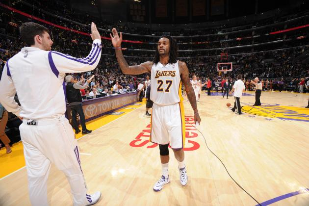 Gauging Jordan Hill's Impact on the LA Lakers This Season