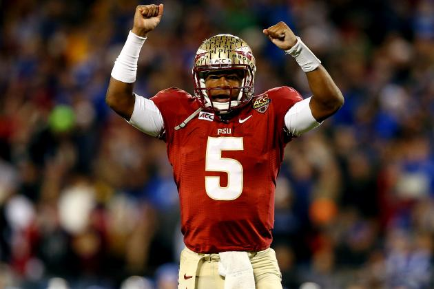 Jameis Winston Wins 2013 Davey O'Brien Award