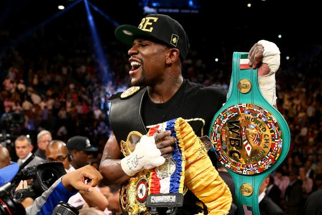 Floyd Mayweather Jr. Fails to Rule out Amir Khan as Next Opponent