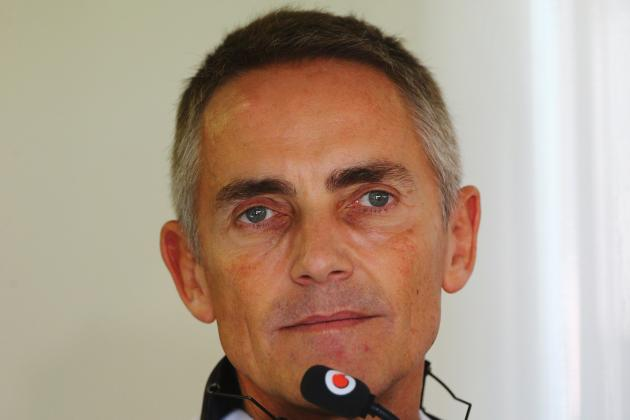 Whitmarsh Fears Controlling F1 Costs May Prove Impossible
