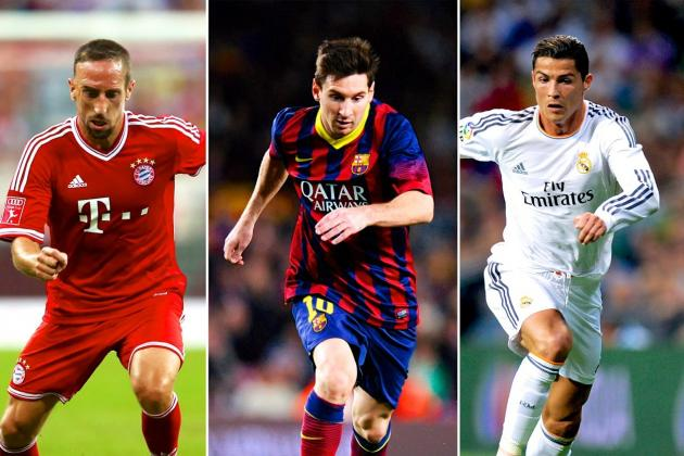 Messi, Ronaldo and Ribery: Is This the Closest Ballon d'Or Race Ever?