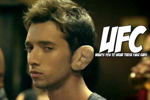In Africa, UFC Made Cauliflower Ears That Doubles as Radios