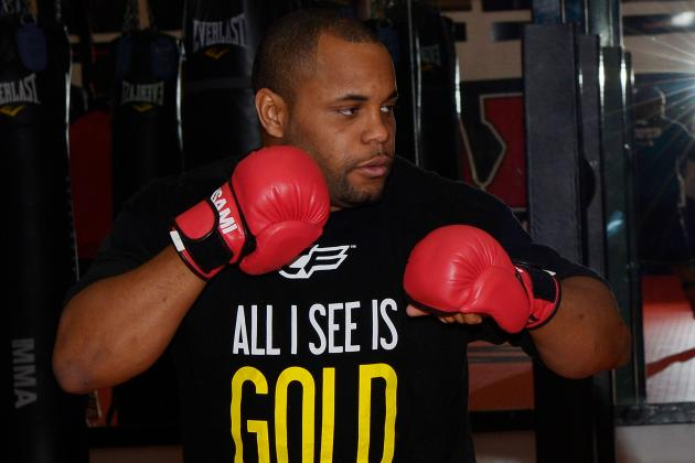 Cormier Intends to Be UFC Champ by the End of 2014