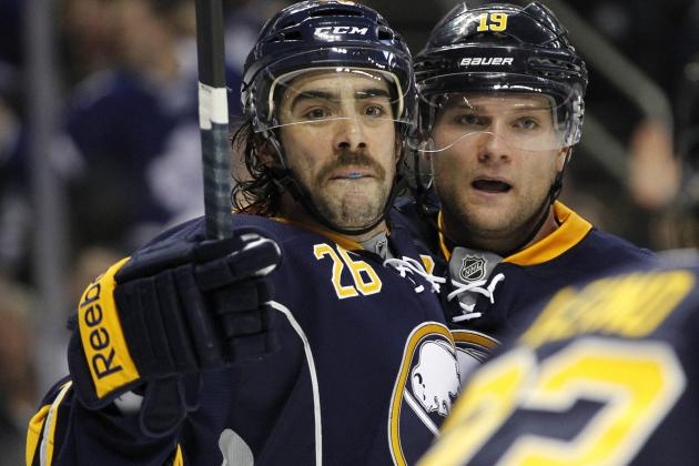 Sabres Make Major Line Swaps in Attempt to Score
