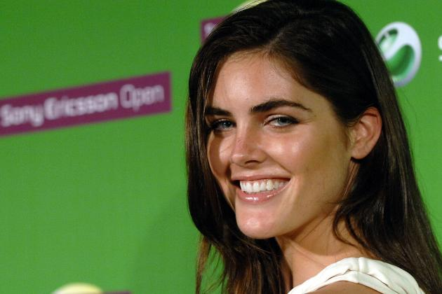 Sean Avery's Fiancee Hilary Rhoda Models in 2013 Victoria's Secret Fashion Show
