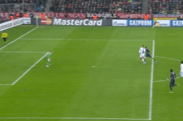 GIF: Thomas Muller Scores Early for Bayern Munich vs. Manchester City