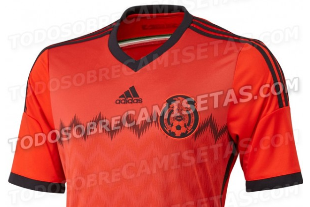 Mexico Away Shirt for FIFA World Cup 2014 Leaked