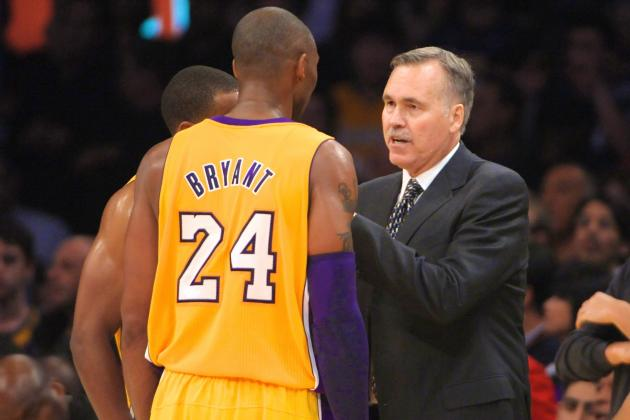 Mike D'Antoni Objects to Kobe Bryant's Lukewarm Assessment of Lakers' 10-9 Start