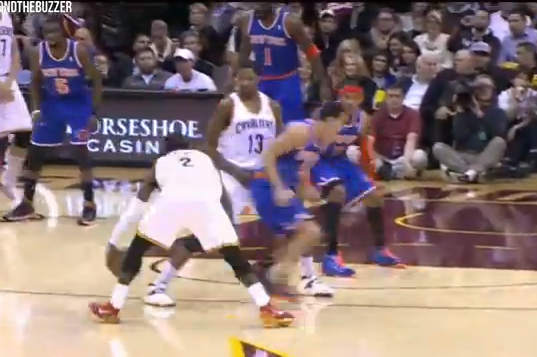 Watch Cavs Point Guard Kyrie Irving Put Knicks PG Pablo Prigioni on Skates