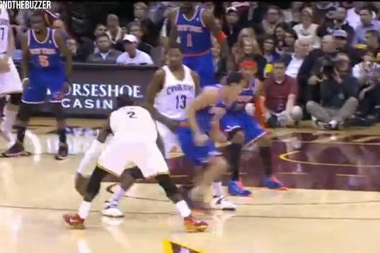 Watch Cavs Point Guard Kyrie Irving Put Knicks PG Pablo Prigioni on Skates