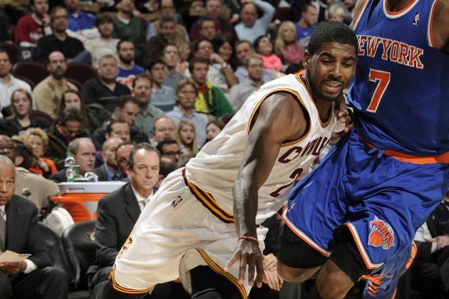 Kyrie Leads Cavs in Rout of Knicks