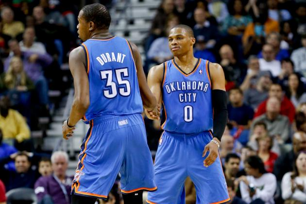 What Is Going on Between Kevin Durant, Russell Westbrook and Courtside Fans?