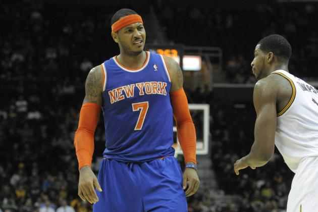 Defenseless Knicks Routed by Kyrie, Cavs