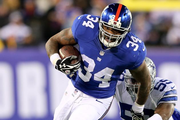 Giants Move Brandon Jacobs to Injured Reserve