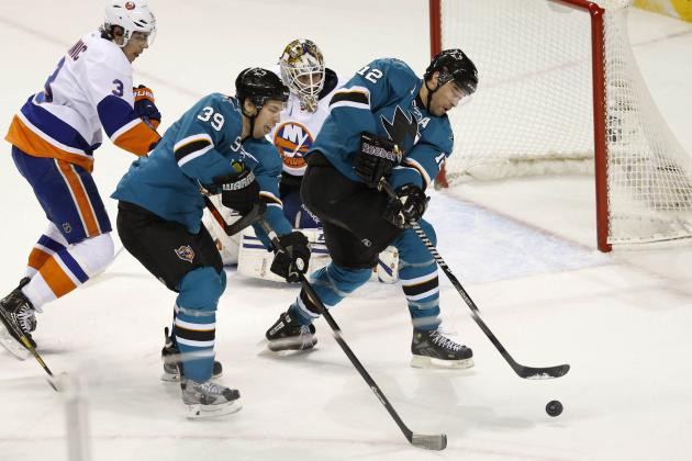 Live: New York Islanders vs. San Jose Sharks