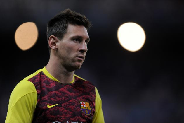 Lionel Messi Won't Get New Barcelona Deal to Match Cristiano Ronaldo's Salary