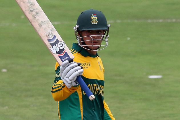 Quinton De Kock Hits 3rd ODI Century in 3 Games for South Africa, Equals Record