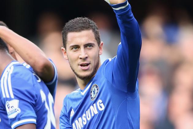 Where Does Chelsea's Eden Hazard Rank Among the World's Best Attackers?