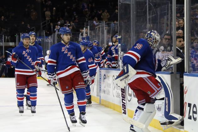 Rangers Booed off MSG Ice After 4-1 Loss to Preds