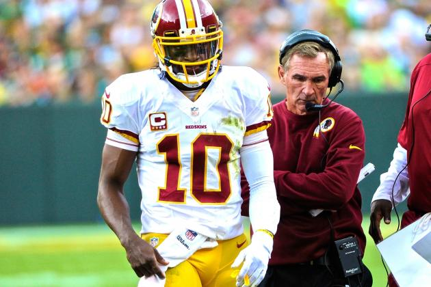 RG3 Benching May Be Nothing More Than Shanahan's Parting Shot in Failed Season