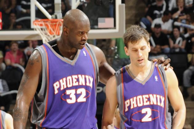 Shaquille O'Neal Once Made Phoenix Suns Teammate Pass Out with Sleeper Hold