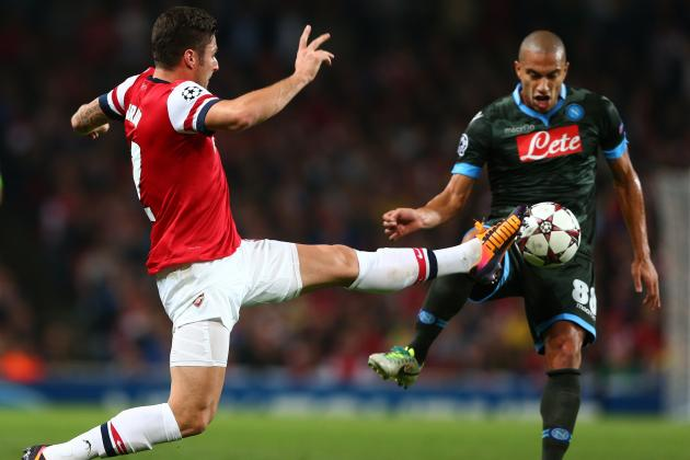 Napoli vs. Arsenal: Gunners Can't Be Complacent Despite Strong Odds to Advance