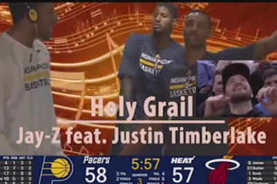 Video: Pacers Get Standing Ovation from Justin Timberlake...
