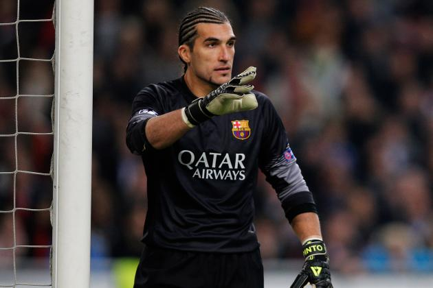 Pinto in Goal for Tonight's UCL Clash