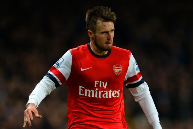 Jenkinson, Rosicky in Lineup for Tonight's UCL Clash