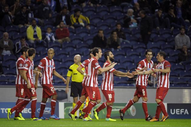 Starting XI Announced vs. Atletico Madrid
