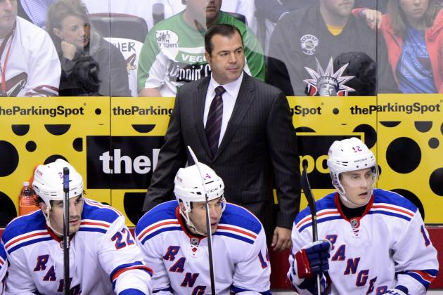 Tortorella's Rangers Holdovers Not Fitting Vigneault's System