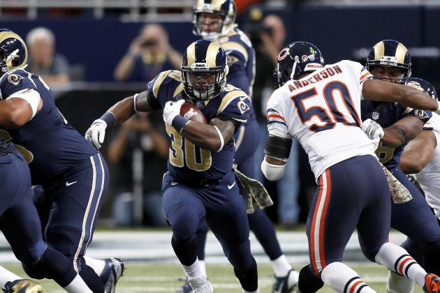Rams Running Game Ineffective in Losses
