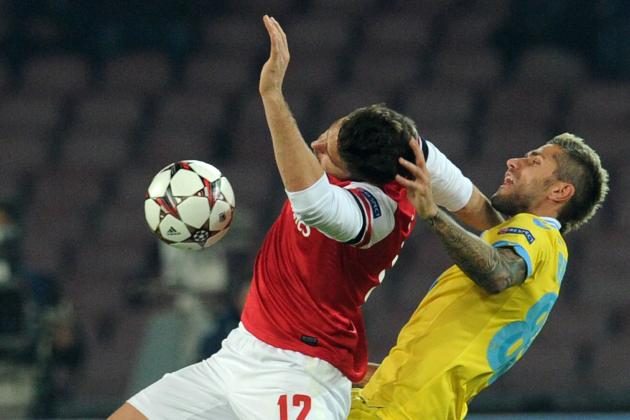 Napoli vs. Arsenal: Champions League Live Score, Highlights, Recap