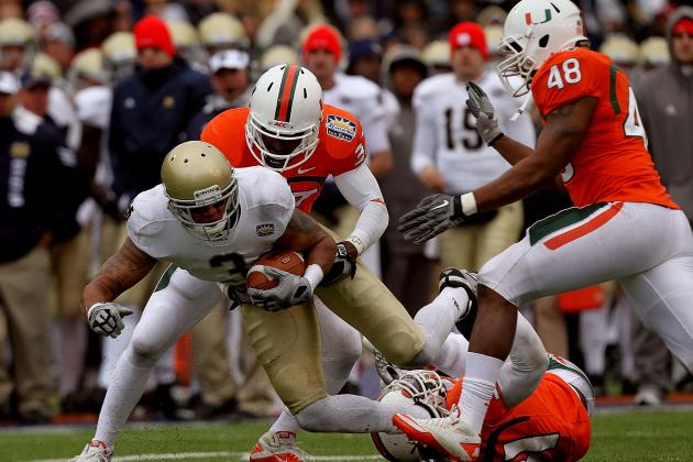 Miami Football: How 2010 Recruiting Class Set Canes Back a Year
